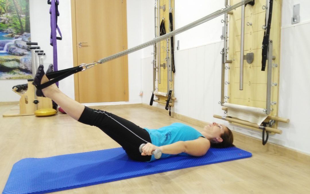 PILATES MAQUINA: ADUCTORES Y TRÍCEPS
