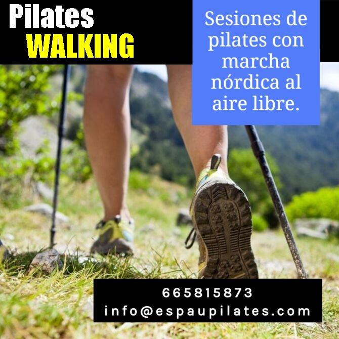 PILATES WALKING